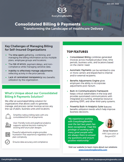 Consolidated Billing & Payments cutsheet thumbnail