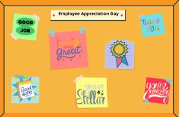 Employee Appreciation Day Board