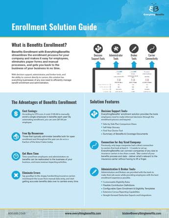 benefits enrollment solution guide