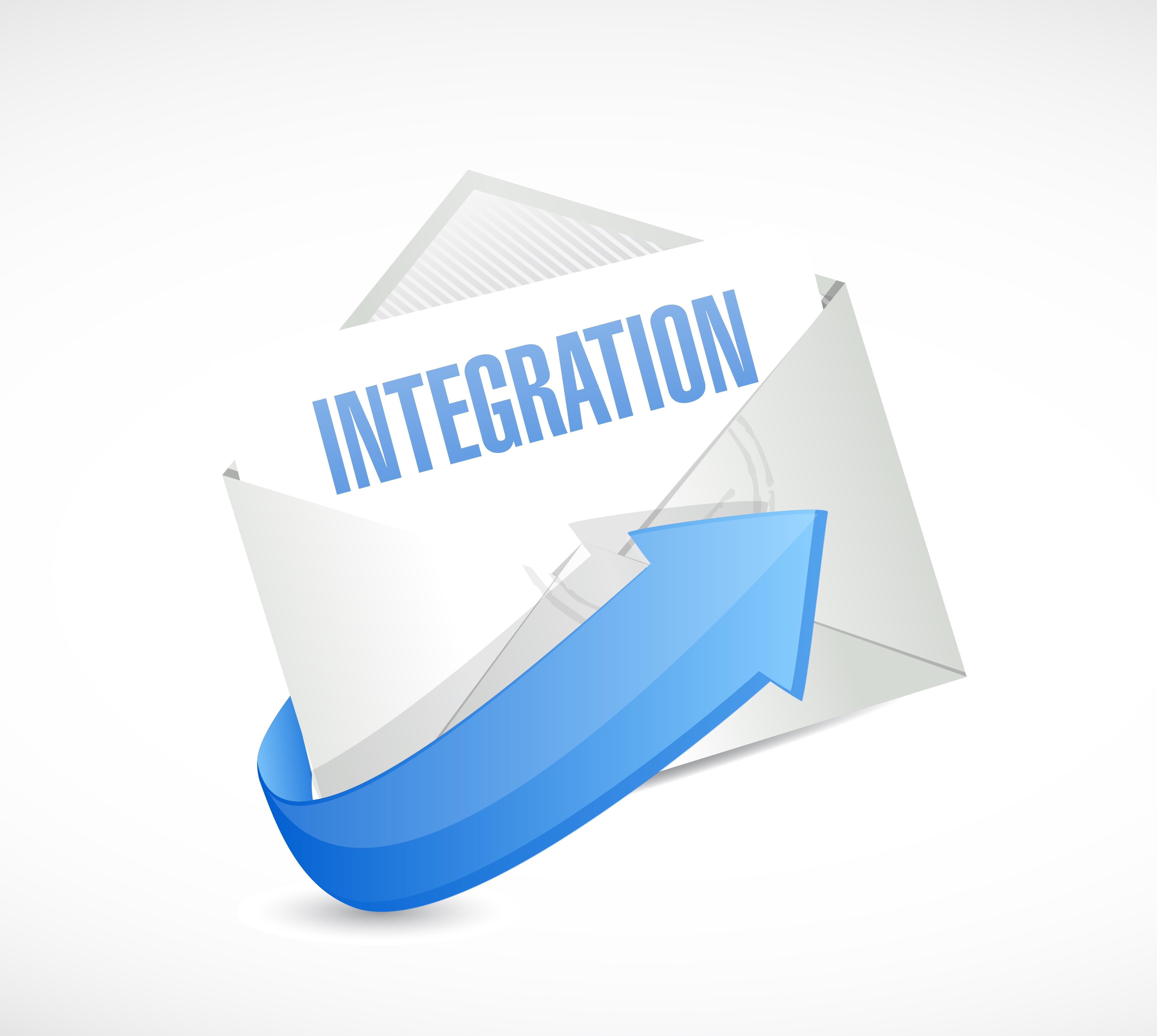 Integration message in envelope