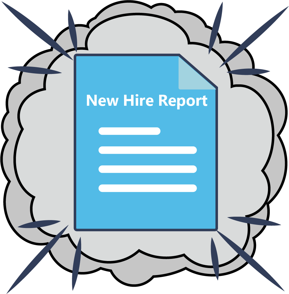 New Hire Report Poof