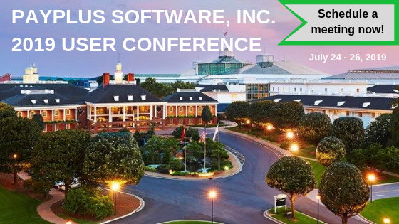 PAYPLUS SOFTWARE, INC. 2019 USER CONFERENCE LP
