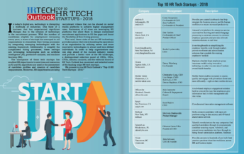 hr tech outlook top 10 hr tech startups 2018
