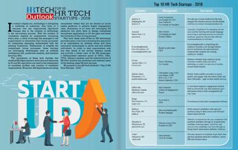 hr tech outlook top 10 hr tech startups 2018