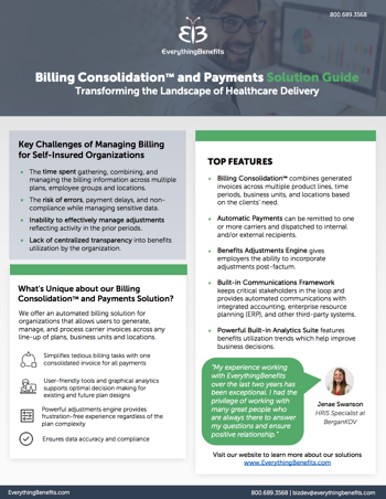 EverythingBenefits Billing Consolidation