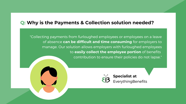 payments and collections for furlough and retired employees