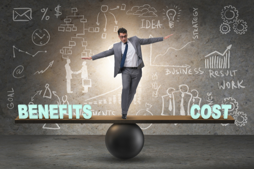 the cost of employee benefits