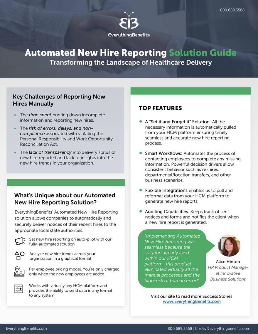 New Hire Reporting cutsheet