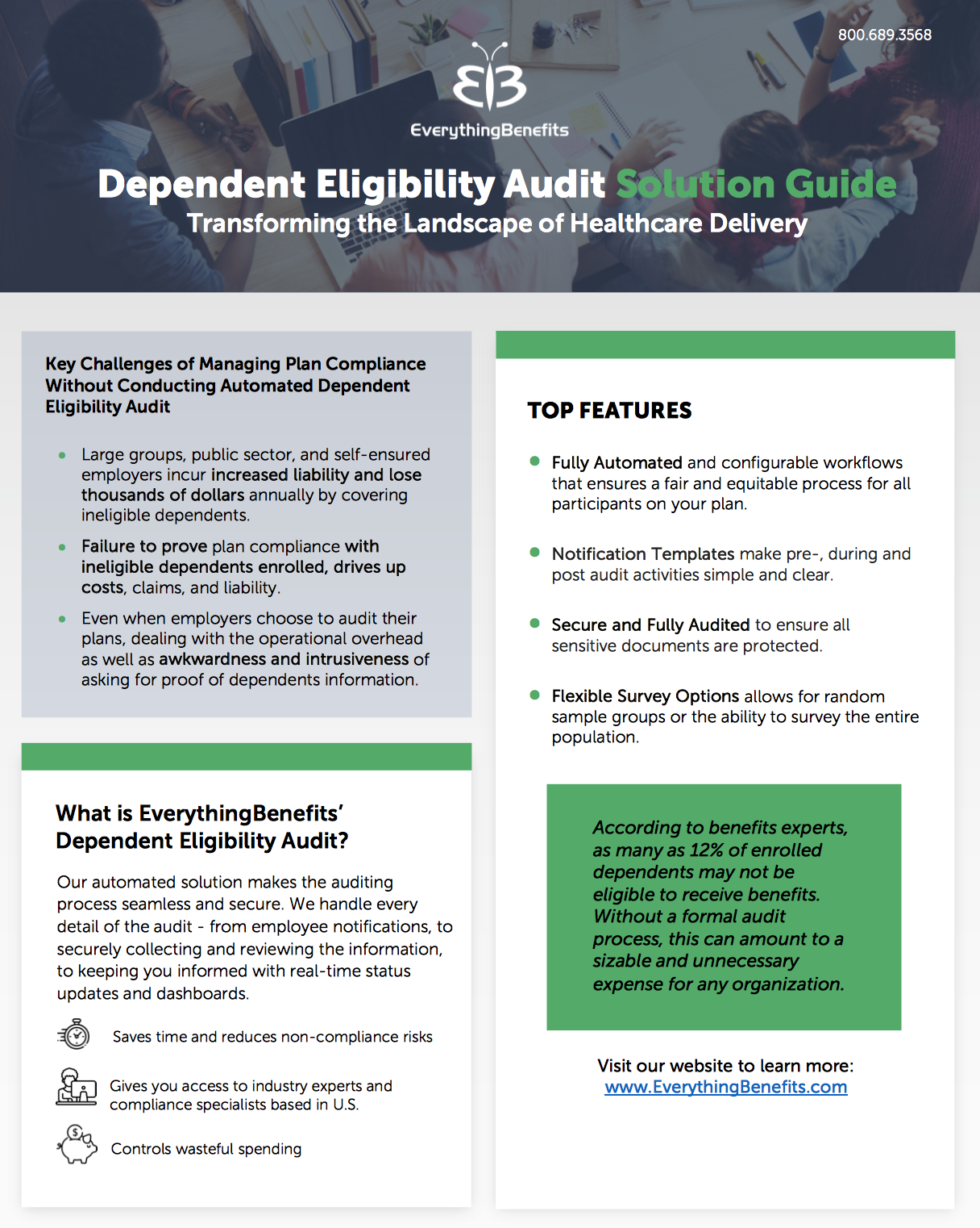 Dependent Eligibility Audit Solution Guide